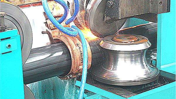 114扩165二手高频焊管生产线