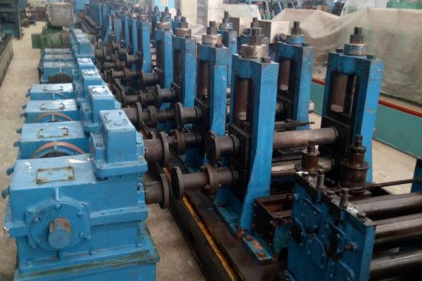 114扩140二手高频焊管生产线