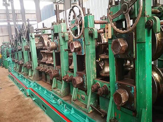 台湾219二手高频焊管机组