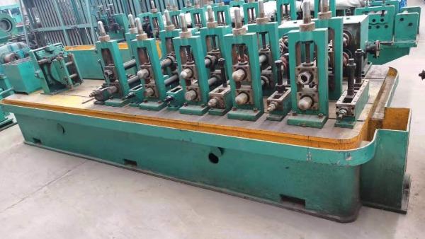 调整二手直接成方焊管机组设备的方矩管对角线