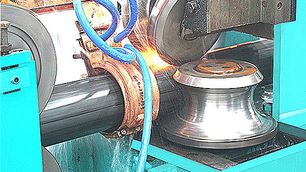二手高频直缝焊管机