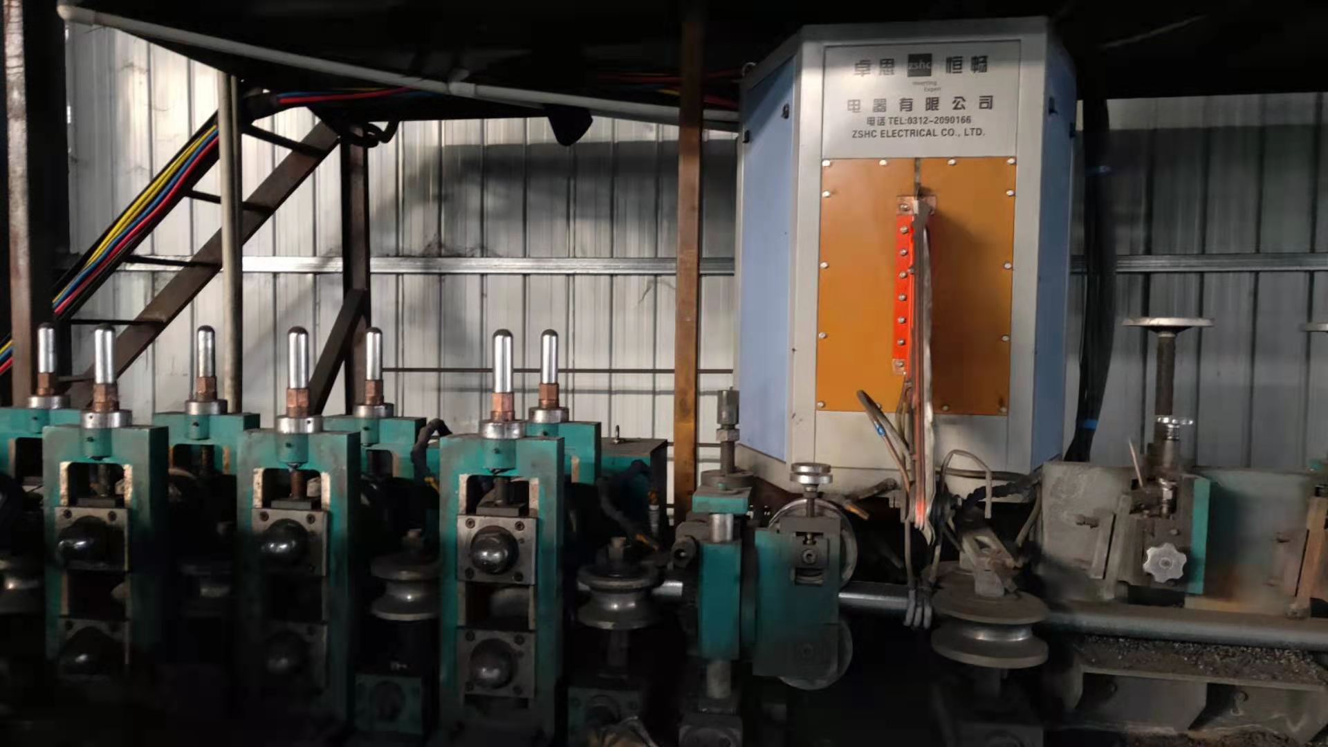 ERW焊管机组