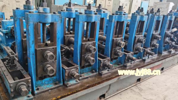 二手高频直缝焊管生产线